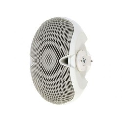 Electro-Voice Dual 3.5in. Two-Way Surface-Mount Loudspeaker - With Transformer - White Cabinet