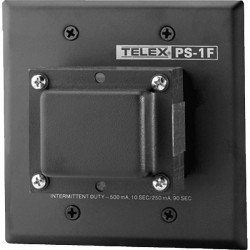 Telex RTS PS-1F Flushmount Power Supply