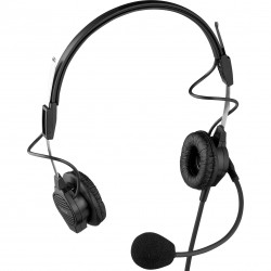 Telex RTS Dual-Sided Headset - A4F Connector
