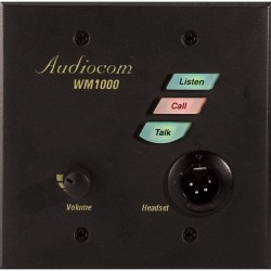 Telex RTS WM-1000 Single-Channel Wall Mount Intercom System