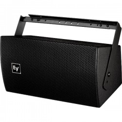 Electro-Voice Ultra-Compact Two-Way Speaker With Single 6.5 Inch Woofer - Black