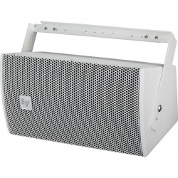 Electro-Voice Ultra-Compact Two-Way Speaker With Single 6.5 Inch Woofer - White
