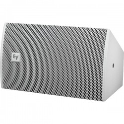 Electro-Voice Ultra-Compact Two-Way Speaker w/Single 8in Woofer - WHT