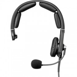 Telex RTS Single Sided Headset with 5-pin Male Connector