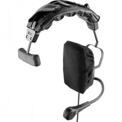Telex RTS Single-Sided Full Cushion Medium Weight Headset with 5-pin Male Connector