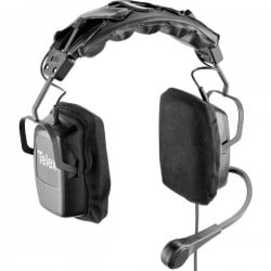 Telex RTS Dual-Sided Headset with Flexible Dynamic Boom Mic and 5-Pin Male Connector