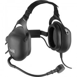 Telex RTS Dual-Sided Full Cushion Hearing Protection Headset with 4-Pin Male Connector