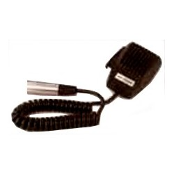 Telex RTS Hand-Held Dynamic Microphone w/ 6-pin Connector-Coiled Cord