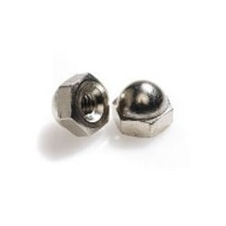 Altman 8-32 Acorn Cap Nut Nickle Plated