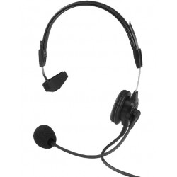 Telex RTS PH-88-IC3-QD Single-Sided Headset - 1/8in. Split Feed 9ft Quick Disconnect