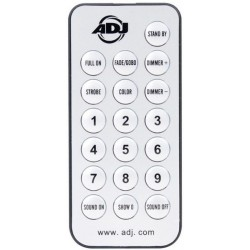 ADJ UC IR - Wireless Remote for Inno Pocket Spot