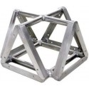 Applied NN 12in. Ultra Lite Tri-Truss Cross 4-Way Adapter