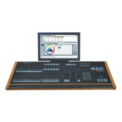 Leprecon XC-350 6 Playback 24 Submaster Console w/ 19in. Touch Screen