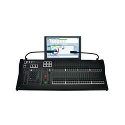Leprecon LPC-V3 96 Ch. Fader Console w/ Encoders & 15in. Touch Screen