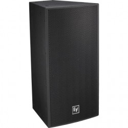 Electro-Voice Front-Loaded Two-Way 2in. Driver Loudspeaker - 120 x 60 - Fiberglass - 12in. - Black