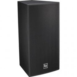 Electro-Voice Front-Loaded One-Way 2in. Driver Bass Speaker - 400W - Fiberglass - 12in. - Black