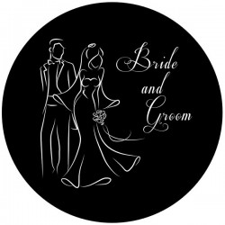 Rosco Steel Gobo SLS 0041 Wedding Silhouette