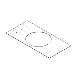 Electro-Voice Rough-In Mounting Plate - For C8.2HC and C10.1 Speakers - Pack of 4