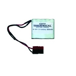 City Theatrical Battery Pack Ni-MH 12V 800 mAh
