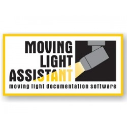 City Theatrical Moving Light Assistant Institutional
