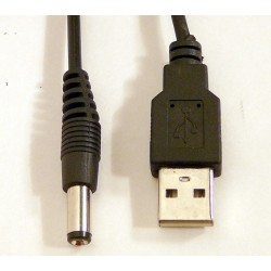 Littlite ANSER Accessory Power Cable 2.1mm to USB