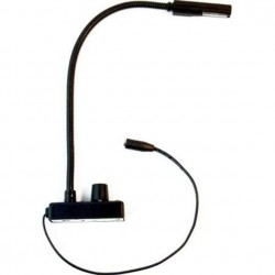 Littlite ANSER 18in. Gooseneck & Dimmer Lamp Set w/ Euro Power Supply