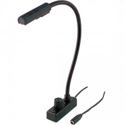 Littlite 12in. Lampset w/Top Mount Gooseneck & End Mount Cord w/No Power Supply