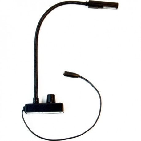 Littlite 12in End Mount Gooseneck & End Mount Cord w/Euro Power Supply