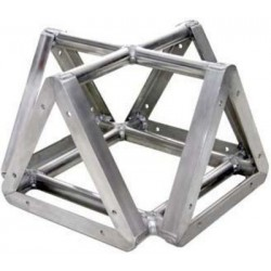 Applied NN 8in. Lite Duty Tri-Truss Cross 4-Way Adapter