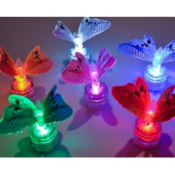 Fortune Sparkle Lite Butterfly Red - 5 Pack