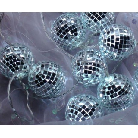 Fortune Mirror Ball String Light