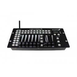 Blizzard 12 Channel DMX Controller with Built In 2.4 Ghz Wireless DMX Transmitter