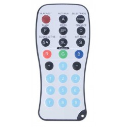 ADJ LED Remote Control RGB Functions for RC Series