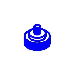 Altman 1/4-20 X 1in. Round Knob 3065AQ