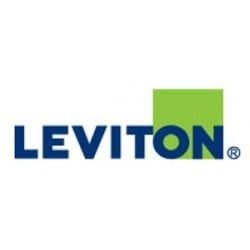 Leviton Flush Mount Plug Box with 2-20A Stage Pin 18in. Pigtails