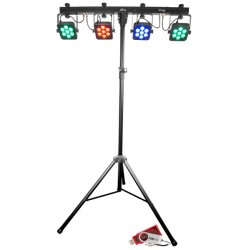 Chauvet DJ 4Bar Tri USB with RGB LEDs and Footswitch