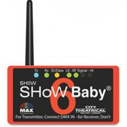 City Theatrical DMX Show Baby 6 - 5-Pin