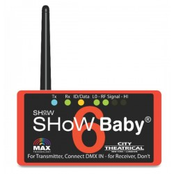 City Theatrical DMX Show Baby 6 - 3-Pin