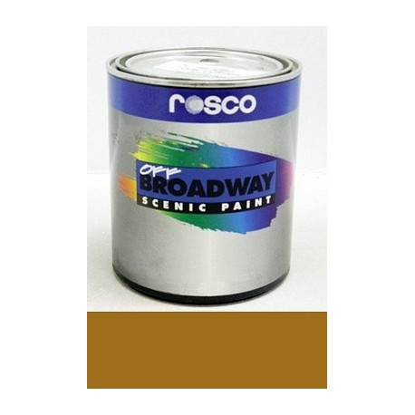Rosco Off Broadway Raw Sienna - Quart
