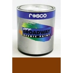 Rosco Off Broadway Burnt Sienna - Quart