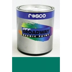 Rosco Off Broadway Pthalo Green - Quart