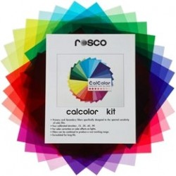 Rosco CalColour Gel Kit - 10in. x 12in. - Clearance
