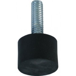 Altman Black Adjustable Non-Skid Foot