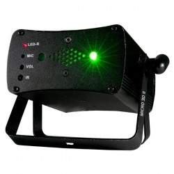 ADJ Micro 3D II - Red and Green Laser with Remote