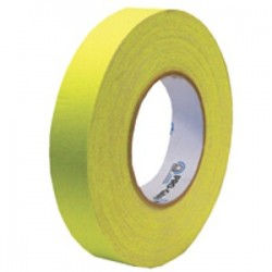 ProGaff 1in. x 50yds - Fluorescent Yellow Tape