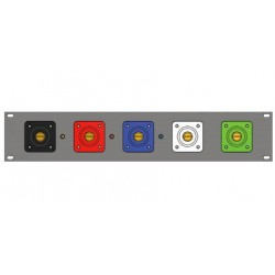 Lex Input Panel - 2RU 5 Wire 16 Series Cam-type Male Devices