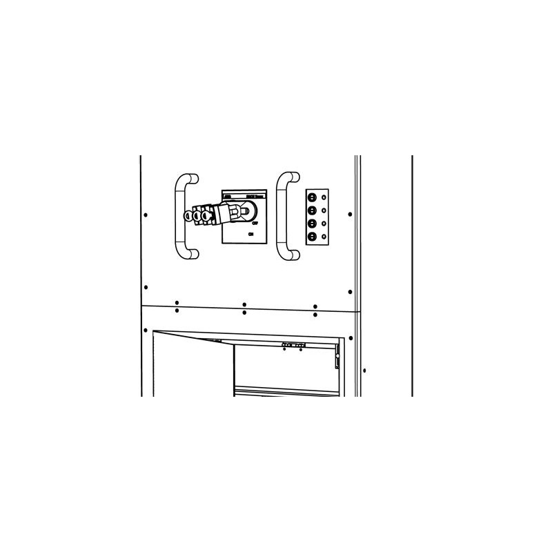 lex 100 amp company switch with iec 60309 pin  u0026 sleeve receptacle