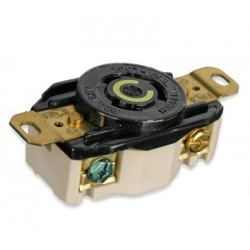 Lex 20 Amp 125 VAC NEMA L5-20 Locking Single Receptacle