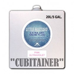CITC Little Blizzard UV Snow Fluid - Light Pink - 5 Gallon Cubitainer