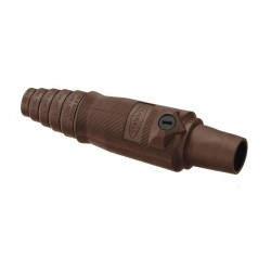 Hubbell Connector Single Pole 400A Female (2/0-4/0) Brown